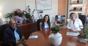 Παρέδωσαν ιατρικά είδη στην 7η ΥΠΕ Κρήτης εκπρόσωποι του Συλλόγου Υπαλλήλων Περιφέρειας