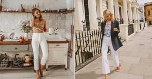 Outfits με λευκό τζιν για να φορέσετε αυτή την περίοδο!