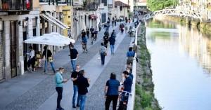 Πάλι τριψήφιος ο αριθμός των νεκρών από κορωνοϊό στην Ιταλία