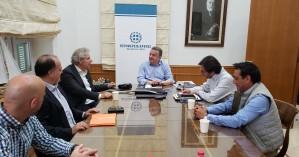 Συνάντηση Περιφερειάρχη Κρήτης με τον Πρόεδρο του ΟΑΚ