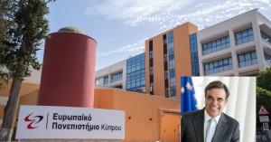 Ο Αντιπρόεδρος της Ευρωπαϊκής Επιτροπής κ. Μαργ. Σχοινάς στο Ευρωπαϊκό Πανεπιστήμιο Κύπρου