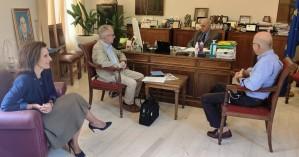 Συνάντηση Δημάρχου Ηρακλείου με καθηγητές του Πανεπιστημίου Κρήτης