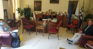 Συνάντηση του Γιώργου Λογιάδη με τον Δήμαρχο Ηρακλείου
