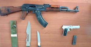 Συνελήφθη άντρας στο Ηράκλειο με ολόκληρο οπλοστάσιο στο σπίτι του!