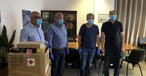 Προσφορά του Συνεταιρισμου Φαρμακοποιών Χανίων στο Νοσοκομείο Χανίων