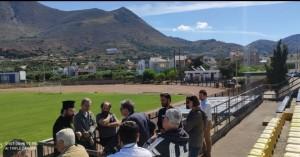 Ενώνουν τις δυνάμεις τους στην Νεάπολη για βελτίωση των υποδομών στους αθλητικούς χώρους