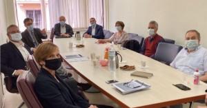 Σύσκεψη στο Υπουργείο Αγροτικής Ανάπτυξης με την συμμετοχή της Περιφέρειας