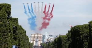 Χωρίς στρατιωτική παρέλαση η εθνική γιορτή της Γαλλίας στις 14 Ιουλίου