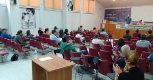 H σύσκεψη του Συνδικάτου Οικοδόμων Ν. Ηρακλείου