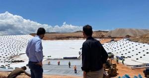 Επίσκεψη Δημάρχου στην περιοχή κατασκευής του νέου ΧΥΤΥ της ΔΕΔΙΣΑ (φωτο)