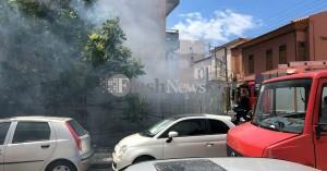 Χανιά: Φωτιά προκάλεσε μεγάλη αναστάτωση στο κέντρο της πόλης (φωτο-βιντεο)