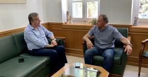 Συνάντηση Περιφερειάρχη Κρήτης και Δημάρχου Ιεράπετρας