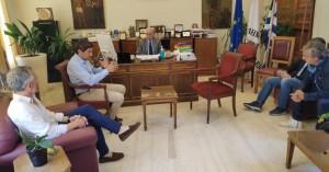 Αυγενάκης – Λαμπρινός - Αναστασάκης για τις εγκαταστάσεις τέννις του ΟΑΑΗ