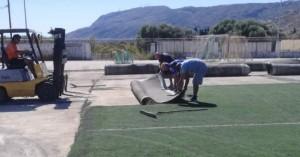 Ξεκίνησαν οι εργασίες στο γήπεδο Μουρνιών