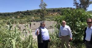Έναρξη του έργου διευθέτησης ποταμού Ταυρωνίτη στο Δήμο Πλατανιά (φωτο)