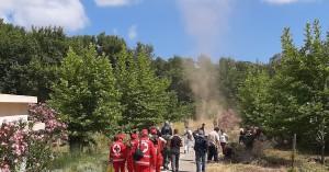 Μαζική προσέλευση στον εθελοντικό καθαρισμό του πάρκου της λίμνης Αγιάς (φωτο - βίντεο)