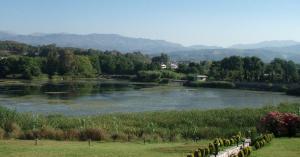 Δράση Εθελοντικού καθαρισμού του πάρκου της Λίμνης Αγιάς
