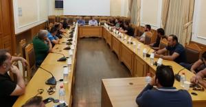 Στην Αθήνα ο Αρναουτάκης - συνάντηση με τον πρόεδρο του ΕΛΓΑ (βίντεο)