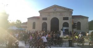 Πλημμύρισαν από ποδηλάτες τα Χανιά (φωτό)