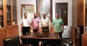 Ο διοικητής της ΑΣΔΕΝ στο μουσείο του Ελευθερίου Βενιζέλου