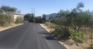 Ρέθυμνο: Εργασίες ασφλατόστρωσης σε περιοχές του Αμαρίου