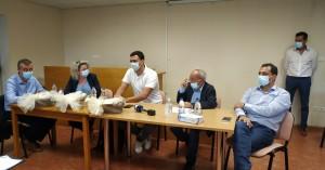 Ο Υπουργός Υγείας, Βασίλης Κικίλιας στον Άγιο Νικόλαο