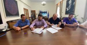 Σύμβαση για την ενεργειακή αναβάθμιση του σχολικού συγκροτήματος Κουμπέ