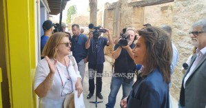 Στο Λασίθι η Γ.Αγγελοπούλου για τις δράσεις του '21 -Το κάλεσμα στη Μ.Βαρδινογιάννη (φωτο)