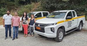 Παραλαβή καινούριων επιβατικών οχημάτων 4x4 ανοικτού τύπου από τον Δήμο Αμαρίου