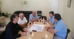 Συνάντηση στο Αρκαλοχώρι για την κατασκευή του ανισόπεδου κόμβου