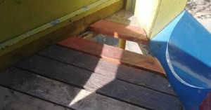 Επικίνδυνη τσουλήθρα στον δημοτικό κήπο Χανίων (φωτο)