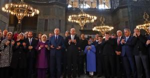 Πώς θα λειτουργεί πλέον η Αγία Σοφία - Υπέγραψε το διάταγμα ο Ερντογάν για να γίνει τζαμί