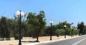Εργασίες αναβάθμισης πρασίνου και αστικού εξοπλισμού Δήμου Πλατανιά