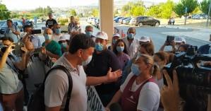 Σε εξέλιξη η επίσκεψη Κικίλια στο Νοσοκομείο Χανίων