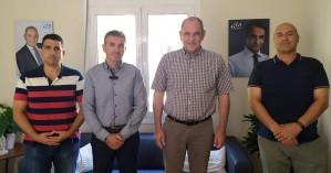Ε.Π.Λ.Σ. Δυτικής Κρήτης: Συνάντηση με τον Βασίλη Διγαλάκη
