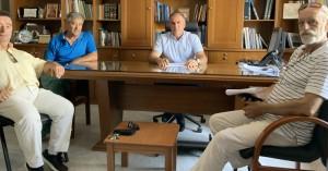 Συνάντηση του Δημάρχου Ιεράπετρας με τον Πολιτιστικό Σύλλογο Θρυπτής