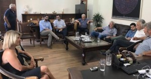 Συνάντηση ΝΕ Χανίων ΚΙΝΑΛ με τον Δήμαρχο Χανίων