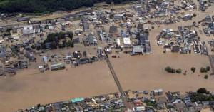 Συνεχίζονται οι έρευνες στην Ιαπωνία μετά τις φονικές πλημμύρες