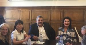 Στα Χανιά η Γιάννα Αγγελοπούλου Δασκαλάκη για τις εκδηλώσεις του 2021 (φωτο)