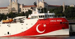 Προκαλεί πάλι η Άγκυρα με νέα τουρκική NAVTEX για έρευνες του Oruc Reis