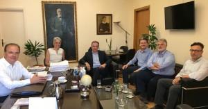 Συνάντηση με τους υποψηφίους των πρυτανικών αρχών Ρεθύμνου είχε ο δήμος
