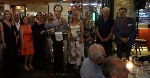 Άλλαξε η ηγεσία του ροταριανού ομίλου Ηρακλείου σε εκδήλωση