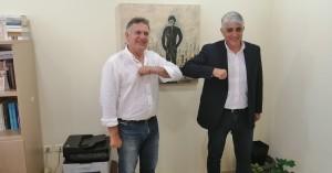 Με τον ΓΓ της ΚΕΔΕ συναντήθηκε ο Μανώλης Φραγκάκης