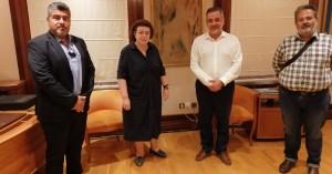 Στην Λίνα Μενδώνη ο Γιάννης Στεφανάκης - Συμφωνία για το Δικταίον 'Αντρον