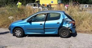 Τροχαίο ατύχημα στον Άγιο Νικόλαο (φωτο)