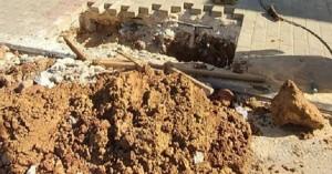 Χανιά: Μεγάλο πρόβλημα με το δίκτυο ύδρευσης στην Αγία Μαρίνα (φωτο)