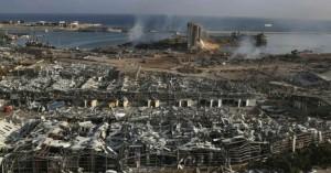 «Κόλαση του Δάντη» στη Βηρυτό: Σοκάρουν φωτογραφίες και τα βίντεο – Πάνω από 100 οι νεκροί