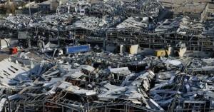 Πεδίο πολέμου θυμίζει η Βυρητός: Διαλυμένα όλα σε ακτίνα 7 χλμ
