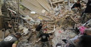 Βηρυτός: Κοριτσάκι 4 ετών διασώζεται κάτω από τα χαλάσματα μετά από 24 ώρες