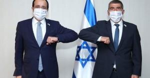 Tην υποστήριξη του Ισραήλ προς την Κύπρο μετέφερε στον Ν. Χριστοδουλίδη, ο Ισραηλινός ΥΠΕΞ